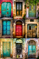 Old Door Collection - Chios, Greece